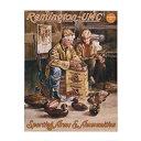 【レミントン】【ステッカー シール】Remington-UMC 木彫り ...