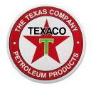 【ステッカー シール】TEXACO テキサコ オイル ロゴ デカール...