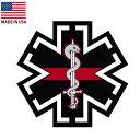 スターオブライフ ステッカー EMS EMT 救急医療 シンボル 約7...