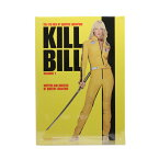 ブリキ看板 キル・ビル ポスターモチーフ 29cm×20.5cm ■ KILLBILL ユマ・サーマン タランティーノ 映画 インテリア 雑貨 壁掛け