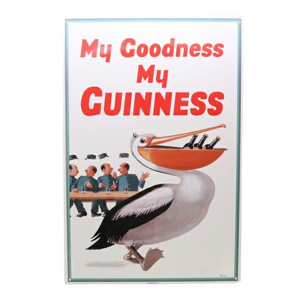 【ギネスビール】My Goodness My Guinness【ブリキ看板】【インテリア 壁掛け】