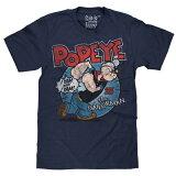 【POPEYE】ポパイTシャツミッドナイトネイビー【メンズ・半袖Tシャツ】【Mサイズ】