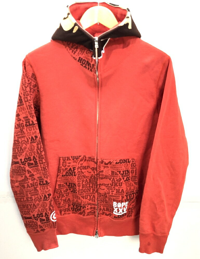 トップス, パーカー A BATHING APE BAPE XXV CITIES CAMO 2nd FULL ZIP HOODIE PARKA :M Net