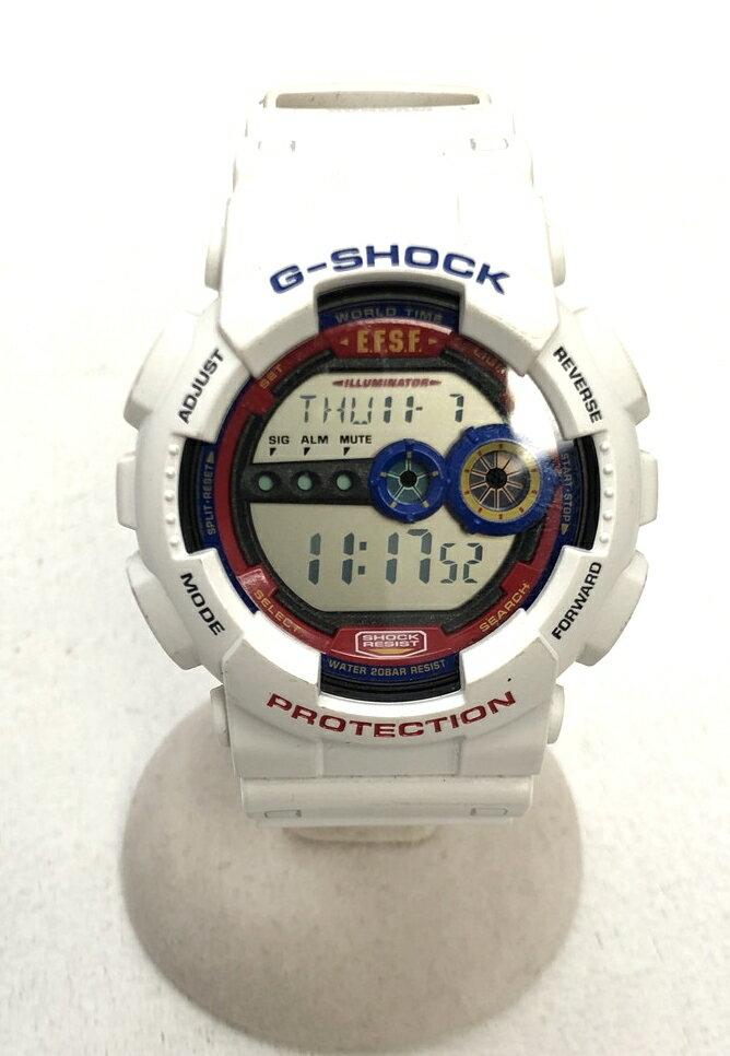 腕時計, 男女兼用腕時計 CASIO G-SHOCK GD-100 GUNDAM 35 Black Net