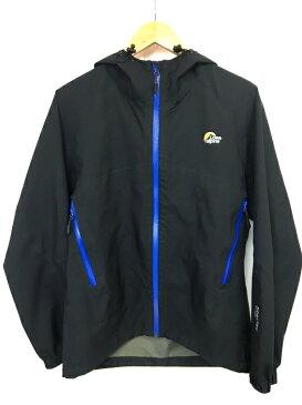 【中古】【メンズ】LoweAlpine GTX Venture Pro Jacket ロウ アルパイン LSM12001 GORE-TEX レインJacket マウンテンパーカー ナイロン フーディ アウター カラー:BLACK ブラック 黒 サイズ:S 万代Net店