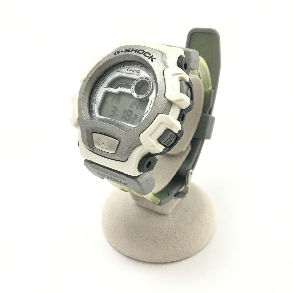 腕時計, 男女兼用腕時計 G-SHOCK CASIO Triple Crown :DW-004ASJ-8AT (HWD): 50.54516.5mm :SILVER WHITE Net
