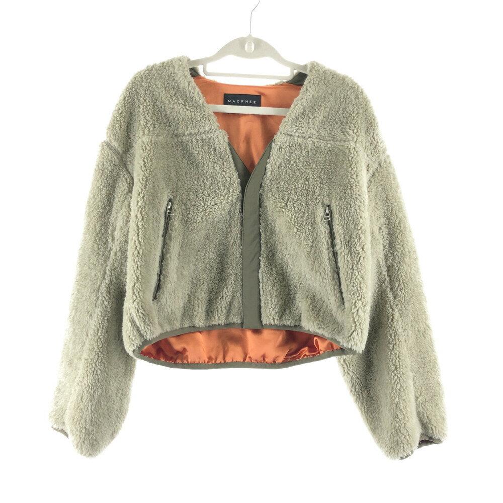 レディースファッション, コート・ジャケット MACPHEE :36 :BEIGE Net