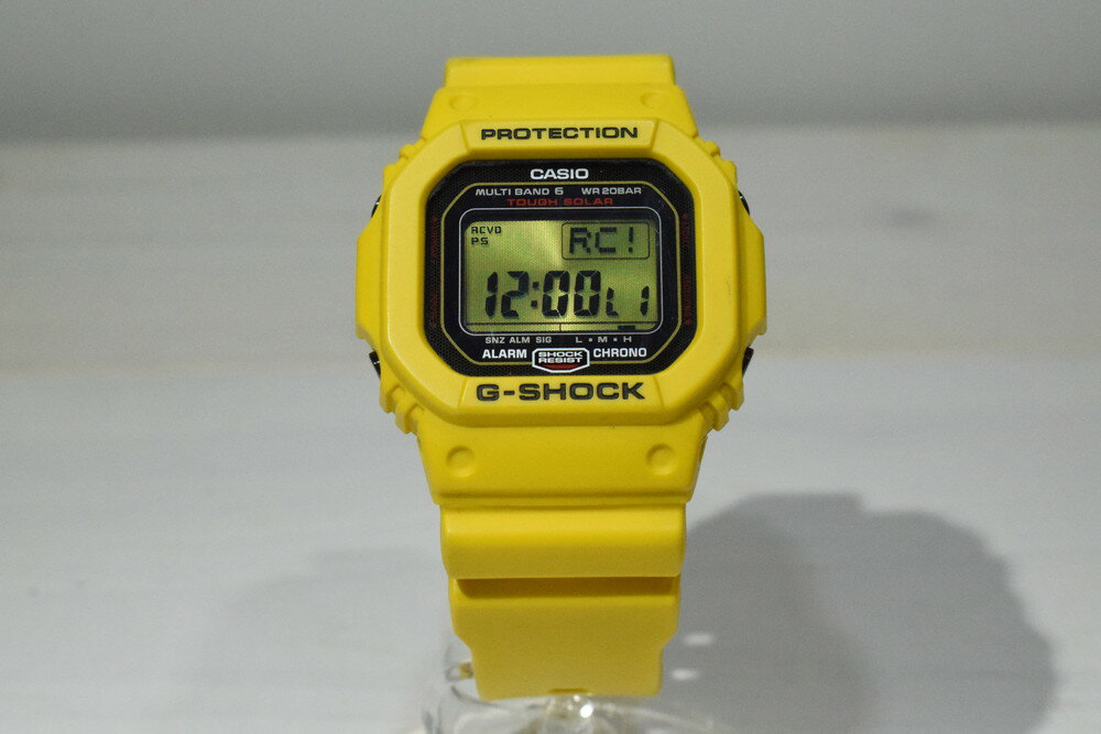 腕時計, メンズ腕時計 CASIO G-SHOCK GW-M5630E-9JR 30 30th Anniversary Lightning Yellow GW-M5610 Net