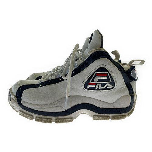 メンズ靴, スニーカー FILA 96 GL Grant Hill F0313 0125 :26.5cm :WHITE NAVY Net