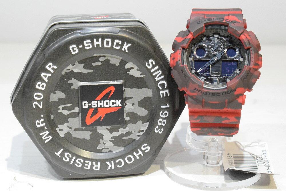 腕時計, メンズ腕時計 G-SHOCK G GA-100CM-4AJF Camouflage Series 20 CASIO Net