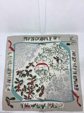 【中古】【レディース】HERMES カレ90 Neige D' Antan エルメス シルクスカーフ 去年の雪 サイズ:約90×90cm カラー:MULTICOLLAR