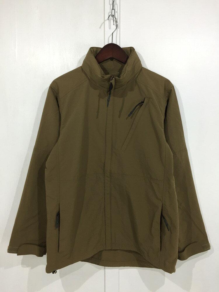 メンズファッション, コート・ジャケット BURLAP OUTFITTER SUPPLEX FULL ZIP WIND SHIRT M KHAKI BROWN Net