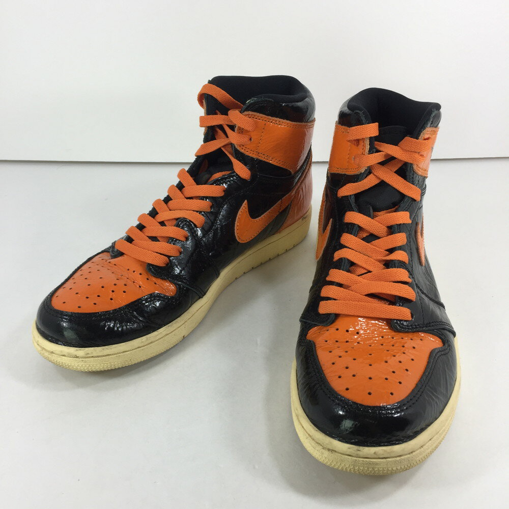 メンズ靴, スニーカー NIKE AIR JORDAN 1 RETRO HIGH OG SHATTERED BACKBOARD 3.0 555088-028 1 US 9.5 27.5cm BLACKSTARFISH-PALE VANILLA Net