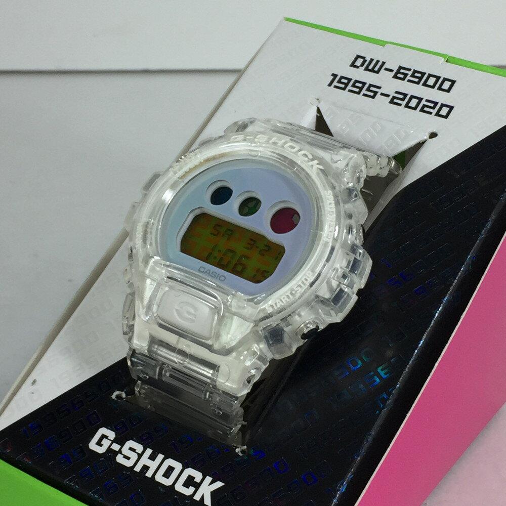 腕時計, 男女兼用腕時計 CASIO G-SHOCK DW-6900SP-7JR DW-690025 42mm 22cm CLEAR Net