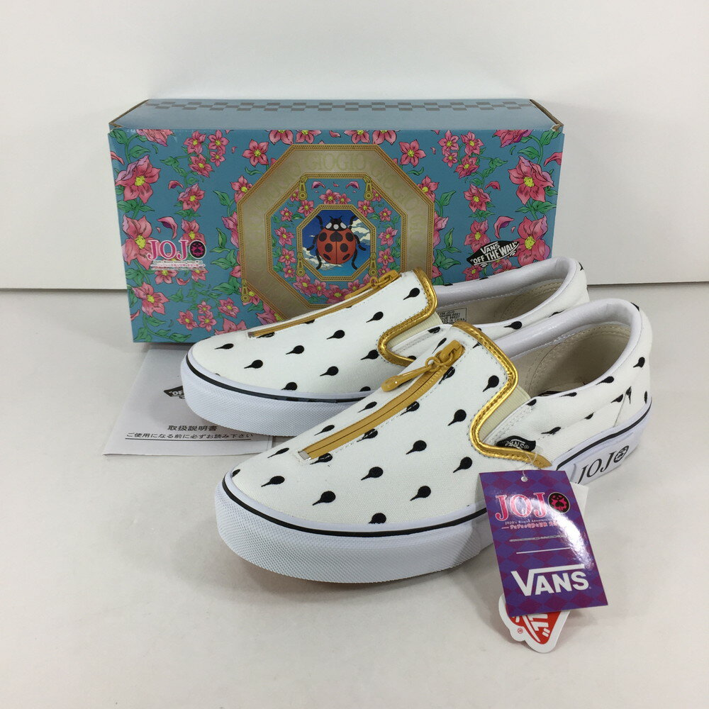 メンズ靴, スニーカー VANS V98 JOJO SLIP ON BRUNO BUCCIARATI 26cm WHITE Net