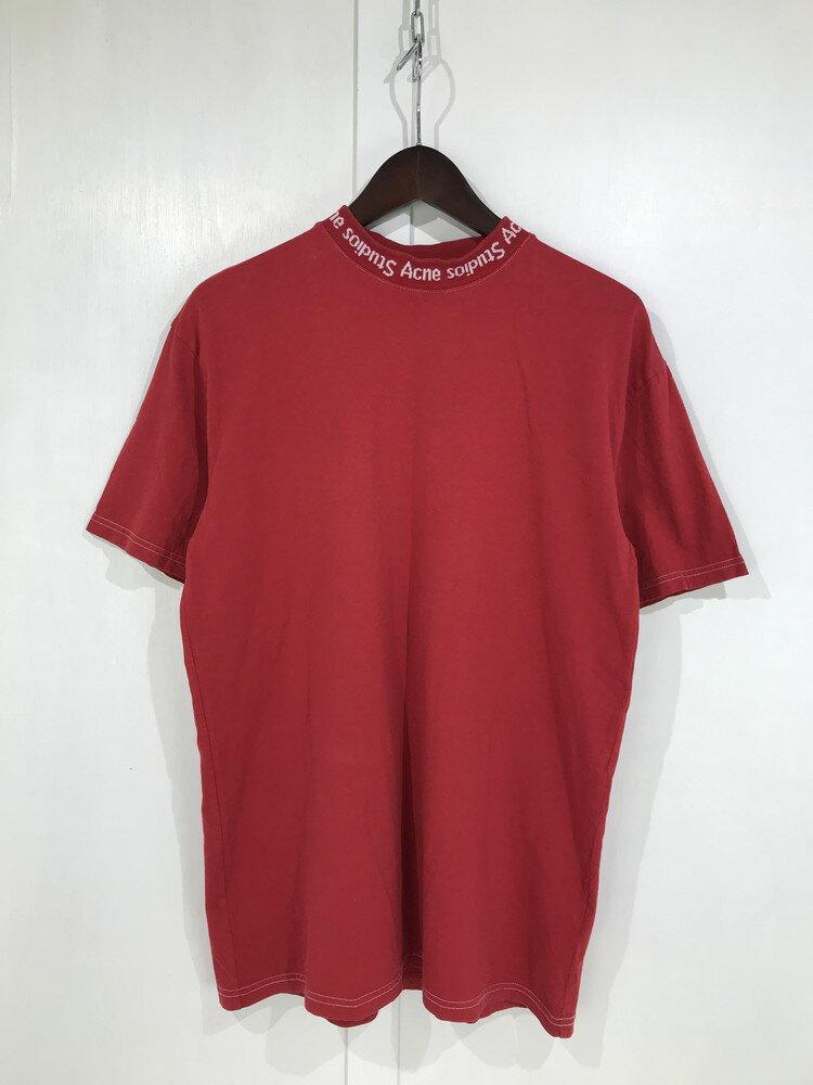 トップス, Tシャツ・カットソー ACNE STUDIOS 17SS GOJINA DYED 15U173 T XS RED Net