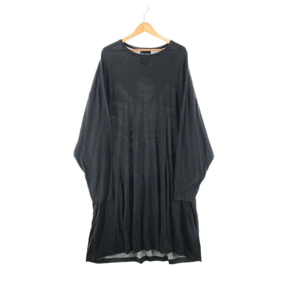 トップス, Tシャツ・カットソー Yohji Yamamoto POUR HOMME 20SS UCHIDA PRINT BIG LONG SLEEVE ROUND NECK T-SHIRT HN-T22-274 T 3 BLACK Net