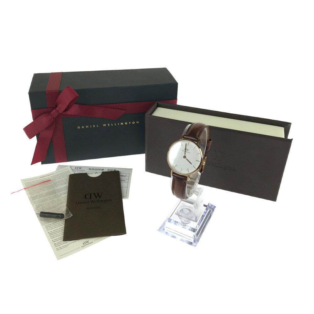 腕時計, 男女兼用腕時計 Daniel Wellington DW00100321 32mm 17cm GOLDBROWN Net