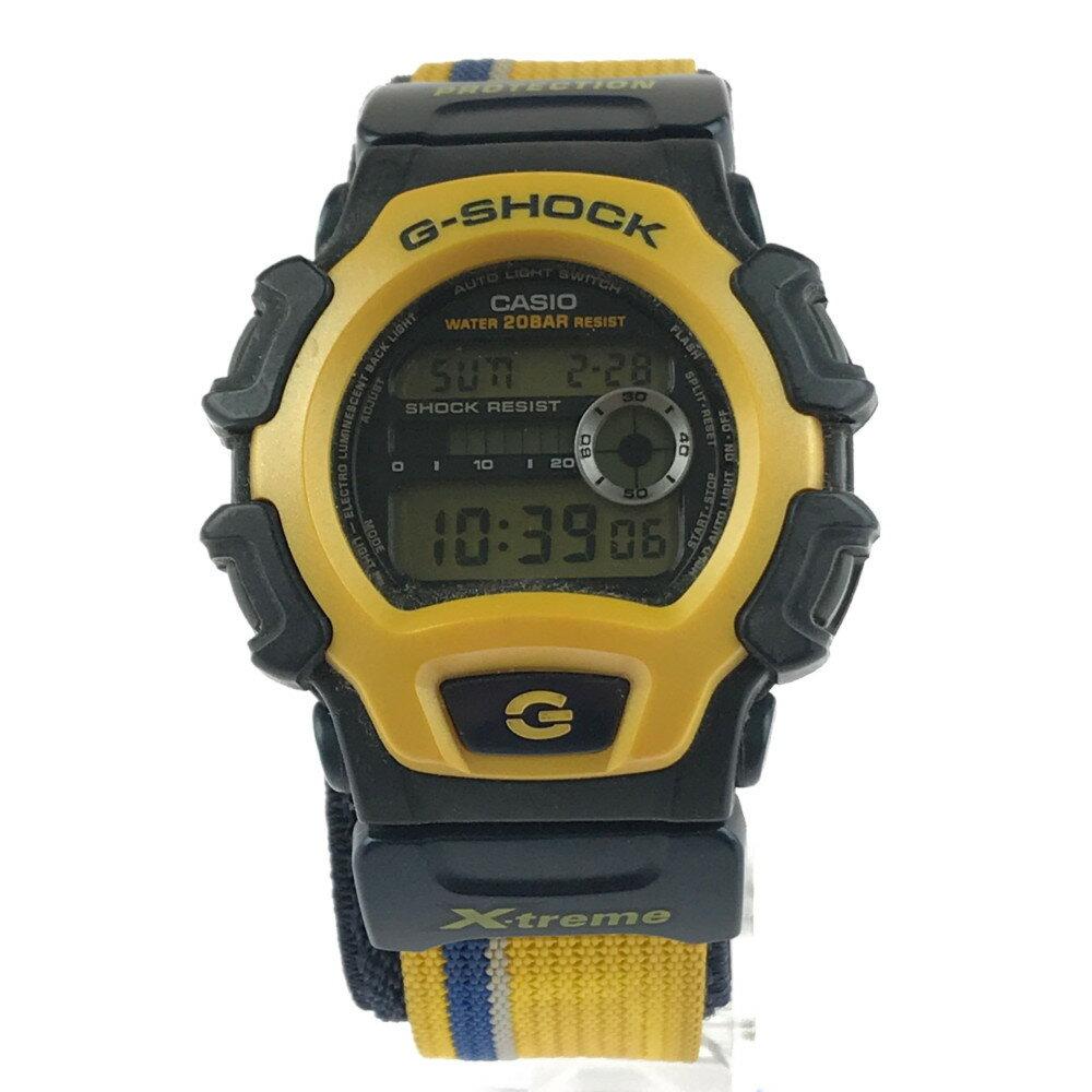 腕時計, メンズ腕時計 CASIO G-SHOCK XTREME DW-004X-9AT 50.54516.5mm 21cm YELLOWBLACK Net