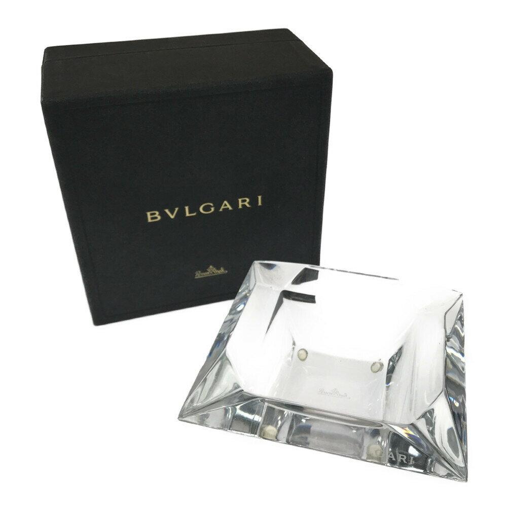 喫煙具, 灰皿 BVLGARI 14146cm CLEAR Net