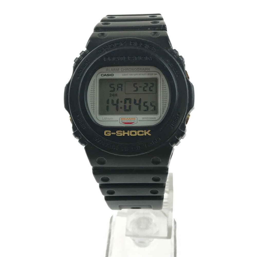 腕時計, メンズ腕時計 CASIO G-SHOCK BEAMS DW-5700BE-1JR BEAMS20 44mm 22cm Net