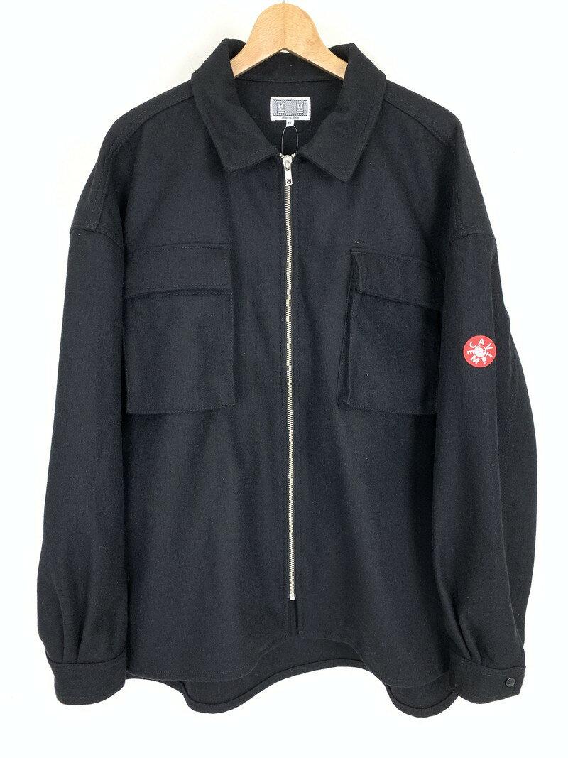 メンズファッション, コート・ジャケット C.E CavEmpt 19AW Wool Zip Shirt Jacket XL Net