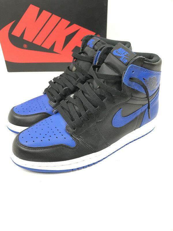 メンズ靴, スニーカー NIKE AIR JORDAN 1 RETRO HIGH OG ROYAL 1 27cm 555088-007 Net