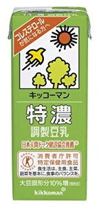 お買い得品!【猫】紀文 特濃調製豆乳 1000ml紙パック×6本入 4ケース(24本)まで送料同額!