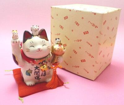 招き猫 置物 開店祝い サロン 招き猫 開店 祝い 居酒屋 カフェ レストラン 美容室 贈り物 金運アップグッズ/
