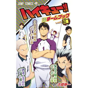 [New] Haikyu !! TV Anime Team Book (1-3 latest volume) whole volume set