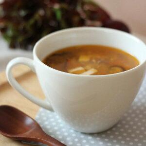 お値打ち♪【お〜きな!スープマグ 500cc】/ スープカップ 大きいカップ おしゃれ 白 おかゆ リゾット カフェオレ ヌードルなど