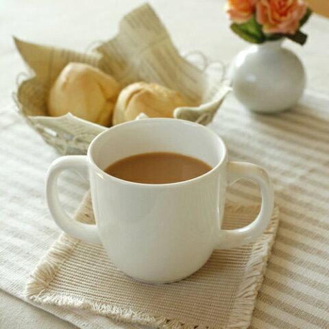 【モンキーカップ両手】 (210cc) ◎アウトレット / マグカップ,コーヒーカップ,スープカップ,ティーカップ,子供食器,白い食器,業務用,かわいい,おしゃれ