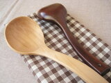 【木のおたま】 カーブ Sサイズ (木製品)/ 木製 レードル お玉 木杓子 鍋 かわいい おしゃれ