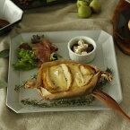 トリュフ,大皿,洋食器,レトロ食器,スクエアプレート,メインディッシュ,ワンプレート,パスタ皿,デザート,カフェ食器