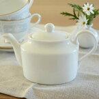【ブランプチティーポット】340ccアウトレット品ポット,陶器,業務用食器,白い食器,陶磁器,紅茶ポット,白磁