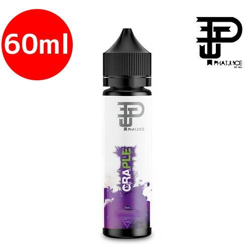 電子タバコ・ベイプ, カートリッジ GRAPLE 60ml Phatjuice VAPE E-liquid