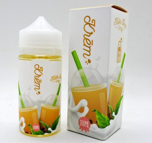 電子タバコ・ベイプ, カートリッジ  100mlSkwezed Boba Milk Tea USA VAPE E-liquid