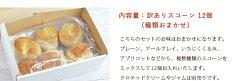 【送料無料・訳ありアウトレット】ダブルバタースコーン6個セット(種類おまかせ)ほろほろ溶ける食感の極上スコーン