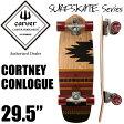 carver カーバースケートボード C7トラック CORTNEY CONLOUGE コートニーコンローグ 29.5インチ コンプリート サーフスケート サーフィン トレーニング かっこいい かわいい おしゃれ 【あす楽対応】