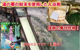 天然温泉の素(入浴剤)美肌の湯(30g×2パック)【送料無料】