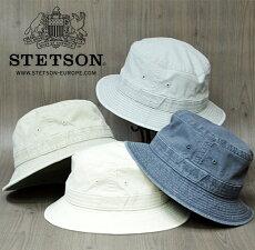 ステットソン/STETSON/送料無料/バケットハット/サファリハット/カメラマンハット/中央帽子/サハリハット/大きいサイズ/春夏/帽子/STETSON/サファリハット/通販紳士帽子/70代ファッション/父の日敬老の日ギフト