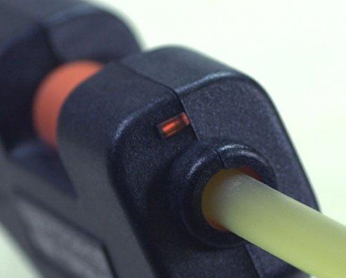 グルーガンG4HS型小型高温タイプ180℃20w(垂れ止め・スイッチ付き)送料無料【ゆうメール】