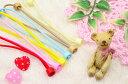 【ゆうメールOK】手作り用材料ヘアゴム  小さい半カップゴム (10個セット) 全10色