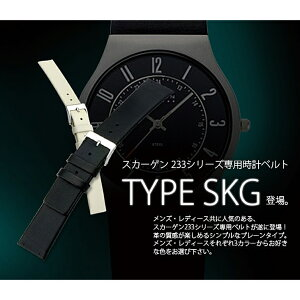 カシス製スカーゲン専用時計ベルトタイプエスケージー