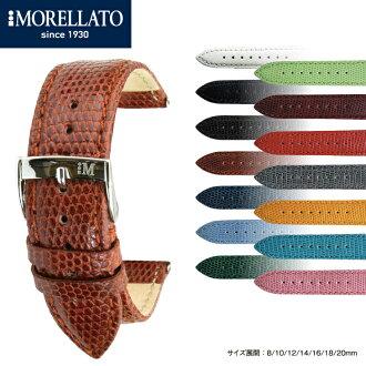手錶帶手錶帶義大利 morellato,鋼看帶 VIOLINO (小提琴) 蜥蜴帶 X 2053372 MORELLATO 手錶帶手錶皮帶手錶皮帶手錶錶帶