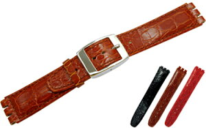 Swatch(スウォッチ)用時計バンド HILTON(ヒルトン) カーフ(牛革) U 2740 640 MORELLATO(モレラ...