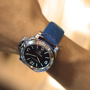 パネライタイプ時計ベルトUBPAN007装着イメージ