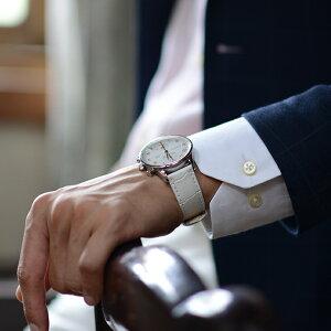 モレラート社製時計ベルトBOLLE(ボーレ)装着イメージ