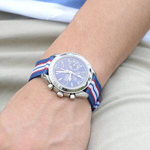 モレラート時計ベルトBADMINTON(バドミントン)装着イメージ