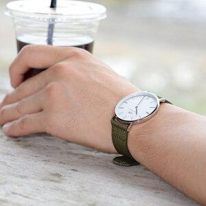 モレラート時計ベルトBADMINTON(バドミントン)装着イメージ2